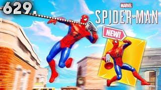 PIEL DE SPIDER-MAN EN FORTNITE..!! Fortnite Funny WTF falla y mejores momentos diarios Ep.629