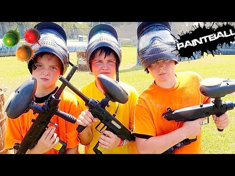 INSANE PAINTBALL BATTLE!...INJURIES AND ALL!