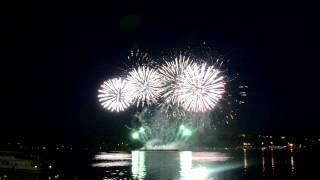 Кострома - День города 2012. Фестиваль фейерверков.