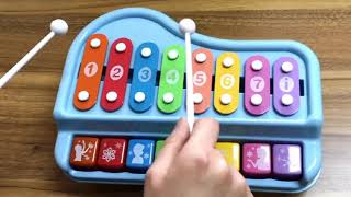 Hand Knock Music Toy Piano For Kids