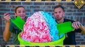 Making a 100LB Snow Cone!