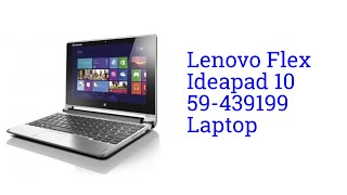Lenovo Flex Ideapad 10 59-439199 Laptop
