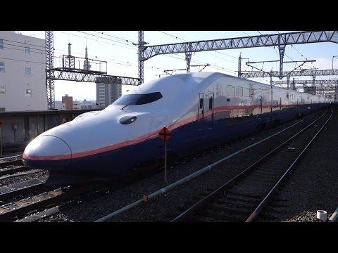 【FHD】JR上越・北陸新幹線 熊谷駅にて(At Kumagaya Station on the JR Joetsu and Hokuriku Shinkansen)