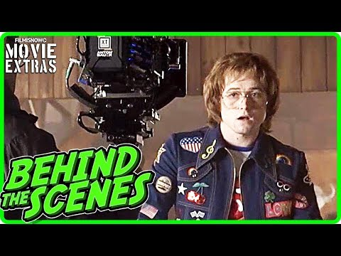ROCKETMAN (2019) | Behind The Scenes Of Taron Egerton's Elton John Biopic Movie