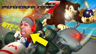 I LOST MY VOICE RECORDING THIS! THE HYPE IS REAL! [MARIO KART 7] [3DS]