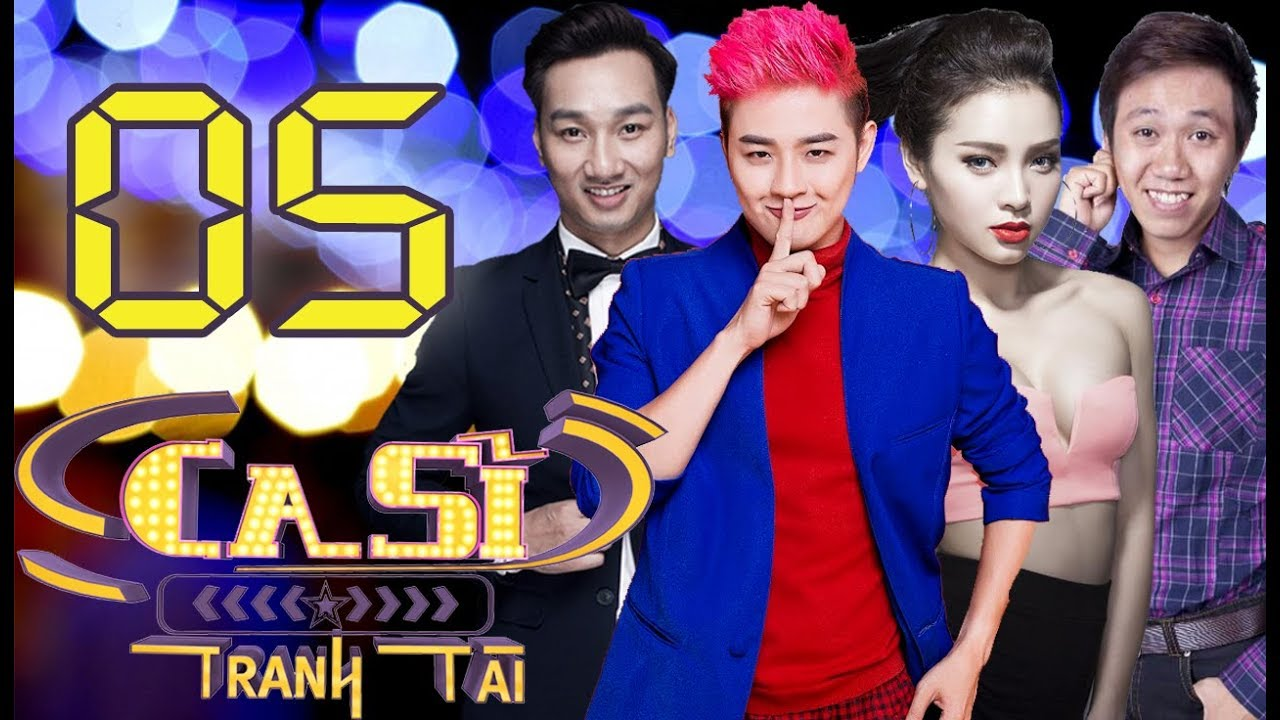 OFFICIAL   CA SĨ TRANH TÀI VTV3 Full - Tập 5  Anh Đức, Thanh Duy, Phương Trinh Jolie   06/04/2018