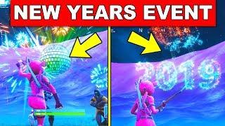 Fortnite NEW YEAR EVENT 2019 GAMEPLAY (Fortnite Battle Royale Disco Ball Countdown)