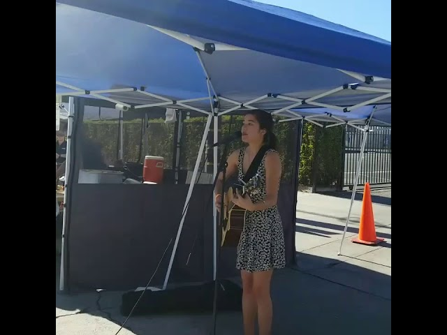 Kira Morrison at the Noho Farmers Market