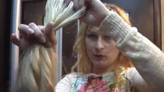 видео Уход за искусственными волосами