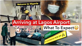 LAGOS International Airport MM NEW Arrival Protocol   THINGS HAVE CHANGED BUT FOR BETTER??