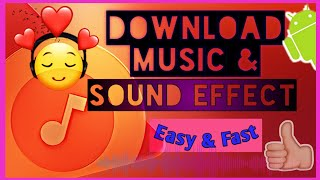 Download HOW TO DOWNLOAD MUSIC AND SOUND EFFECT(easy&fast)ITagalog