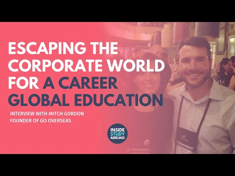 Escaping the Corporate Jungle for a Career in International Travel with Mitch Gordon, GoOverseas.com