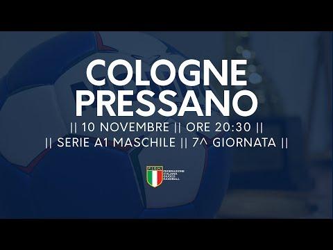 Serie A1M [7^]: Cologne - Pressano 19-24