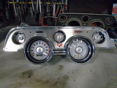 Rebuild a 1968 Mustang Dash Cluster, lastchanceautorestore.com