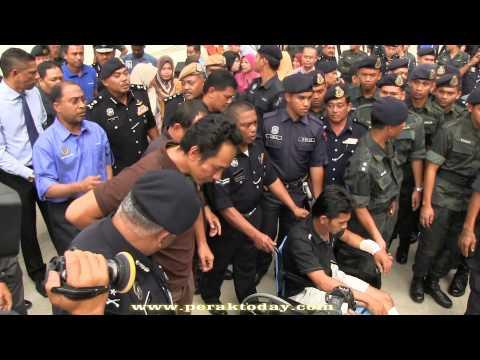 Dua Anggota Komando VT 69 Selamat Pulang, Bakal Jalani Rawatan Di HRPB Ipoh