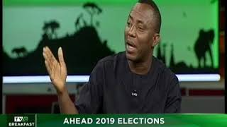 Omoyele Sowore on TVC; Debates with Moghalu