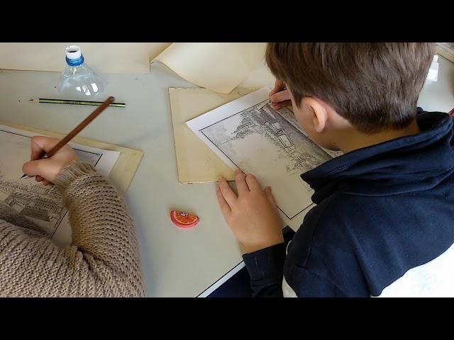 Рисование в школе