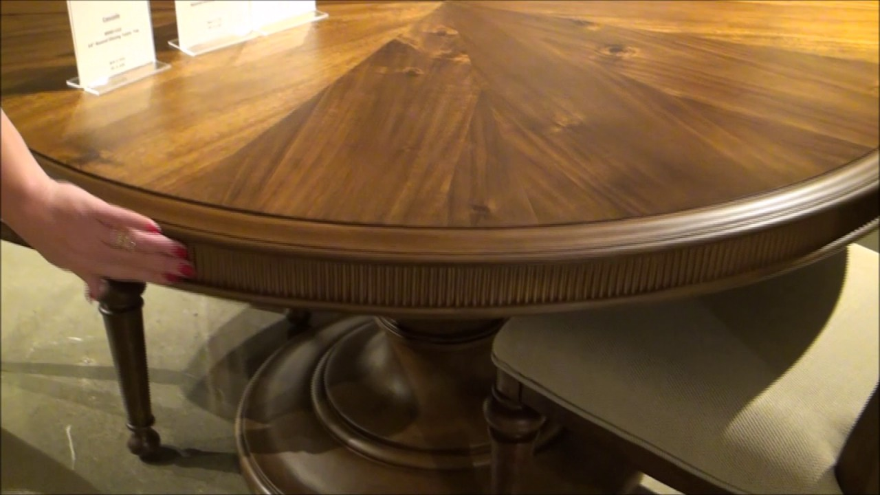 Cascade Round Dining Room Set By Broyhill Furniture Youtube