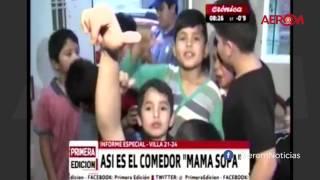 Video: Un nene hizo llorar a una notera de Crónica