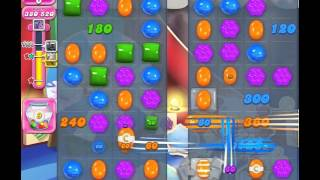 Candy Crush Saga Level 1384 (No booster, 3 Stars)