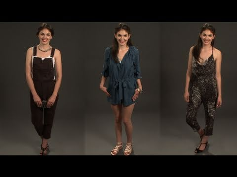 How To Wear Jumpsuits Youtube