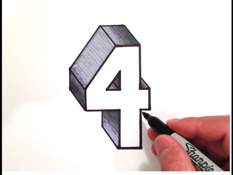 how to draw the number 2