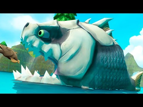 The T-Rex Of Fish - Feed And Grow Fish - Part 63 | Pungence