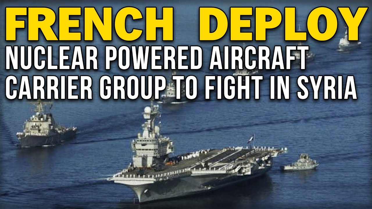 French Aircraft Carrier Charles De Gaulle Leaves The Southern Port Of Toulon On