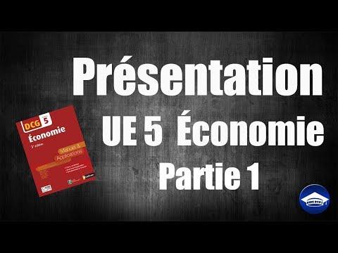 Présentation de l'UE 5 économie - DCG