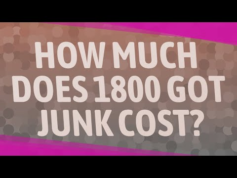How Much Does 1800 GOT JUNK Cost?