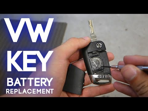 How To Change a Volkswagen MK7 Key Fob Battery (2015-2019)
