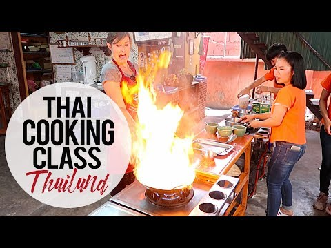 Burning Down the House: Thai Cooking Class: Chaing Mai, Thailand