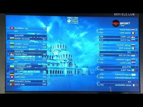 ATP 250 DIEMA XTRA Sofia Open - Men's Singles Draw Ceremony, Arena Armeec Sofia 03.02.2018.