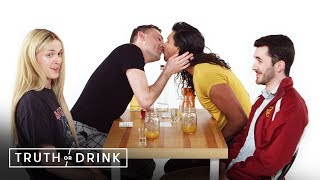 Double Blind Dates Play Truth or Drink (Drew, Joe, Marvin, & Winston) | Truth or Drink | Cut thumbnail