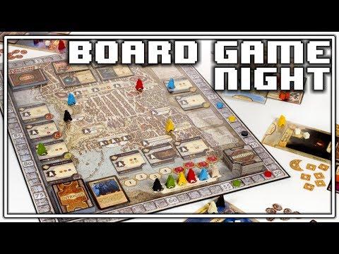 Board Game Night: Lords Of Waterdeep