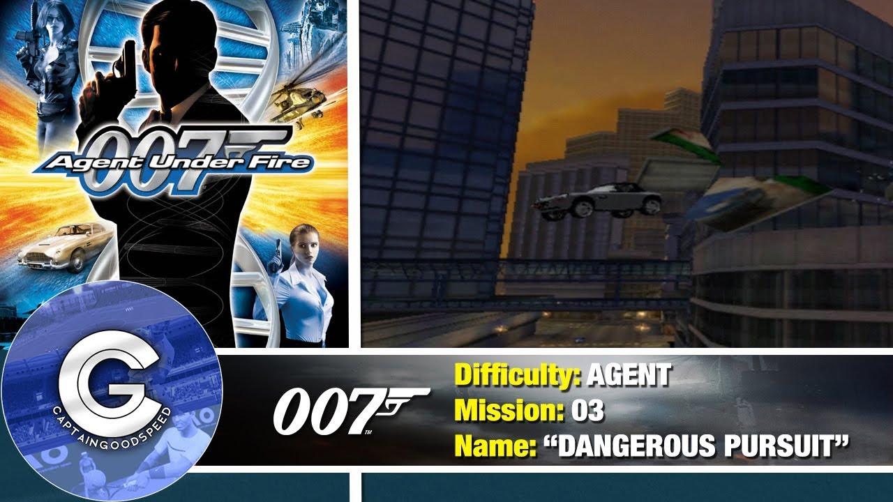 Mission 3 Dangerous Pursuit 007 Agent Under Fire Ps2 Full