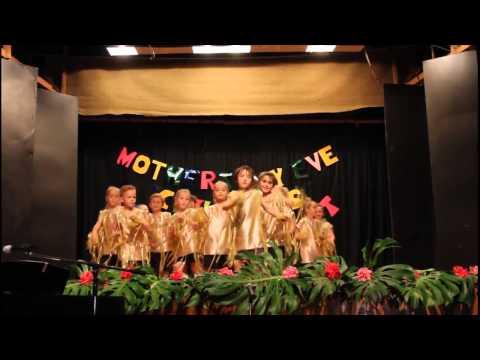 walking on sunshine kindergarten to year 2 dance group Norfolk Island Central School