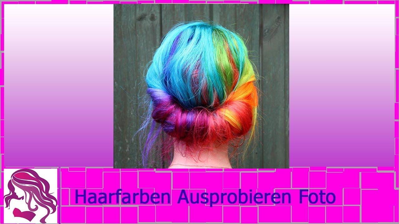 Haarfarben auf foto ausprobieren