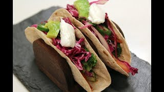 Exotic Vegetable Soft Tacos | Sanjeev Kapoor Khazana
