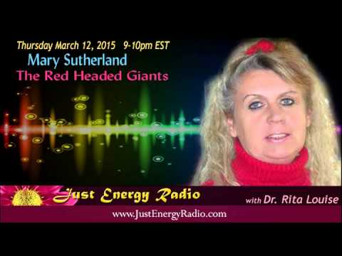 The Red Headed Giants of North America - Mary Sutherland - Just Energy Radio
