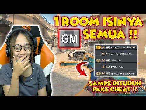 INI JADINYA KALO 1 ROOM ISINYA GM SEMUA!! SAMPE DIBILANG CHEAT - Pointblank Indonesia