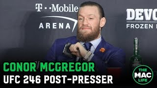 Conor McGregor | UFC 246 Post-Fight Press Conference