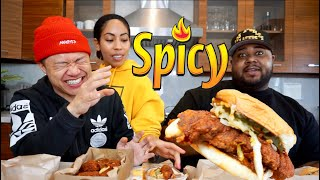 MUK BANG - Hacked, Leaked, Nekkid, & Spicy Chicken Sandwiches