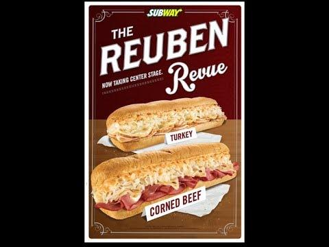 Stash Review's Subway Corned Beef Reuben