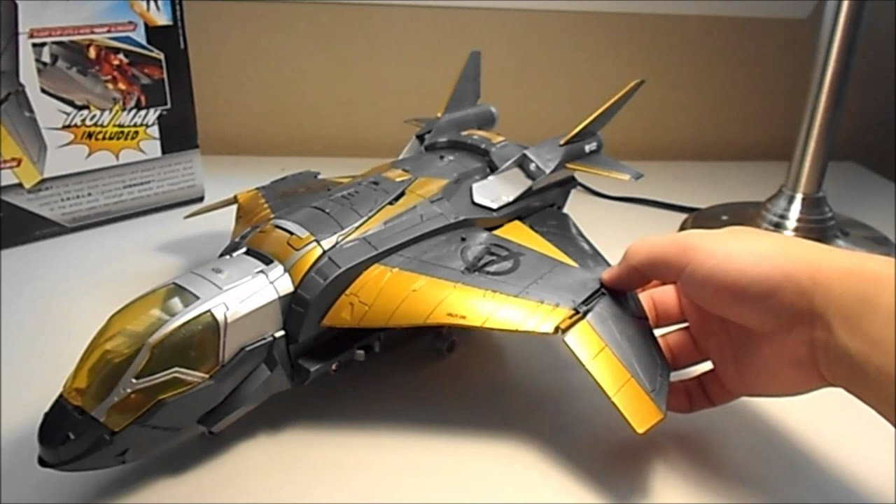 marvel the avengers quinjet