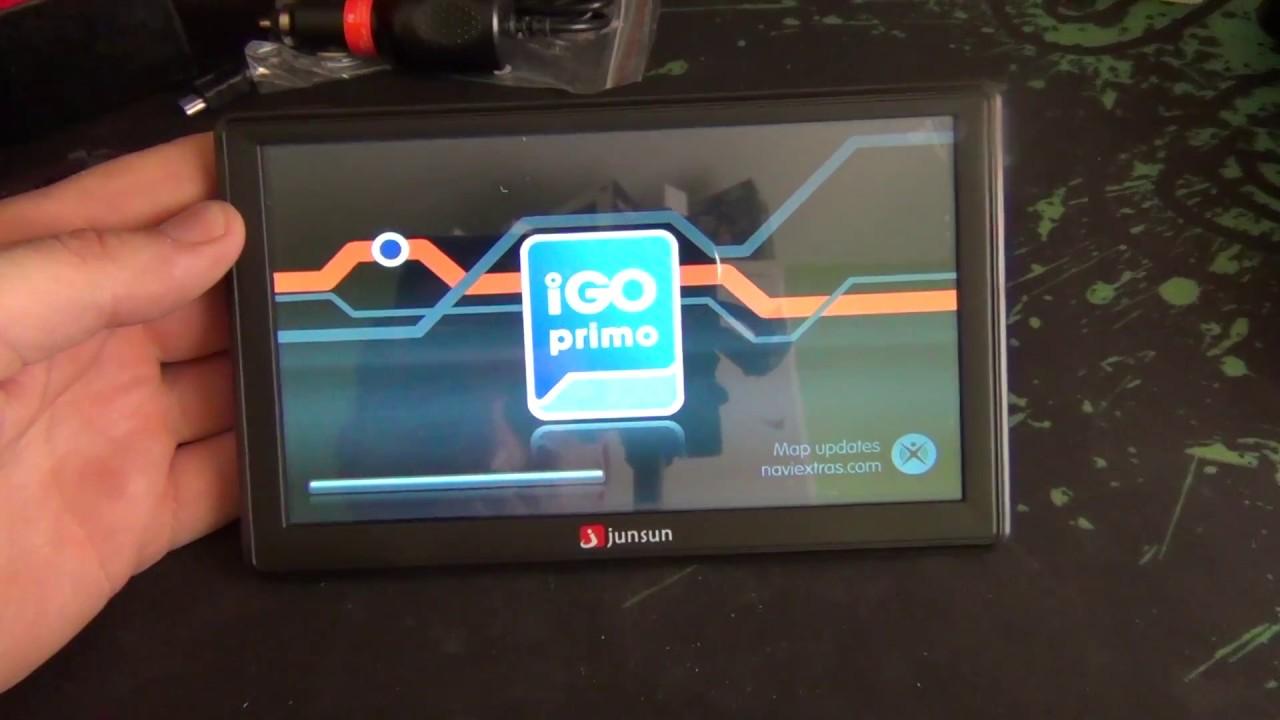 Junsun D100 Car GPS Navigator Free Maps