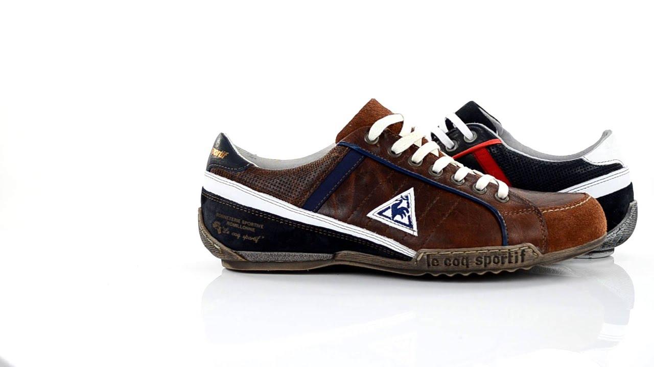 le coq sportif schoenen schuhe footwear manet low youtube. Black Bedroom Furniture Sets. Home Design Ideas