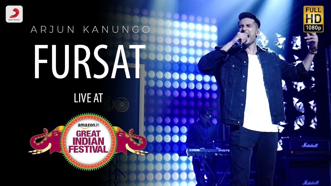 Download Fursat - Live @ Amazon Great Indian Festival   Arjun Kanungo