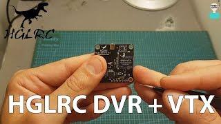 HGLRC DVR-VTX - Review & DVR Footage