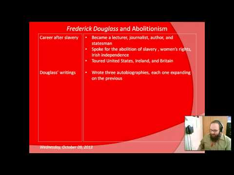 Frederick Douglass and Abolitionism (e-lesson)
